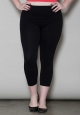 PRE ORDER: Crop Leggings - Black