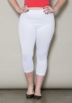 PRE ORDER: Crop Leggings - White