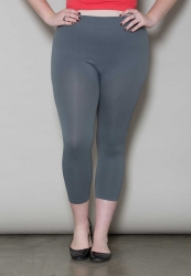 PRE ORDER: Crop Leggings - Grey