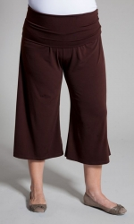PRE ORDER: Essential Gaucho Pants - Brown