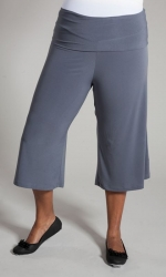 PRE ORDER: Essential Gaucho Pants - Grey