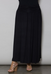PRE ORDER: California Maxi Skirt - Black