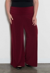 PRE ORDER: Perfect Palazzo Pants - Deep Burgundy