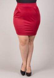 PRE ORDER: Liza Skirt - Red