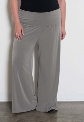 PRE ORDER: Perfect Palazzo Pants - Light Grey