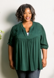 PRE ORDER: Emmylou Tunic - Forest Green