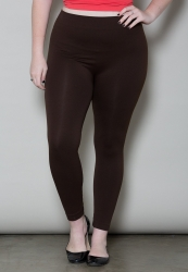 PRE ORDER: Seamless Leggings - Brown