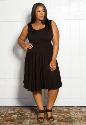 PRE ORDER: Maggie Tank Dress - Black