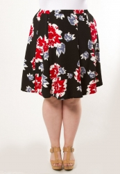 PRE ORDER: Mandy Skirt - Red Rose