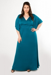 PRE ORDER: Joan Maxi Dress - Teal