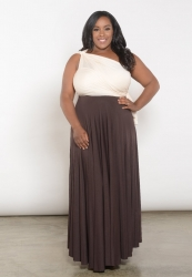 PRE ORDER: Eternity Convertible Duo Maxi Dress - Neutral Brown