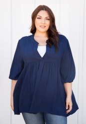 PRE ORDER: Emmylou Tunic - Navy