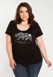 PRE ORDER: California Graphic Tee - Black