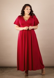 PRE ORDER: Classic Maxi Dress - Red