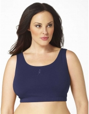 PRE ORDER: Plus Size Sports Bra - Navy