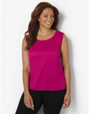 PRE ORDER: Plus Size AirLight Sport Tank - Crayon Pink