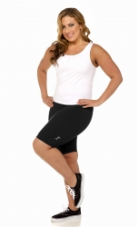 PRE ORDER: Plus Size Bike Shorts - Black