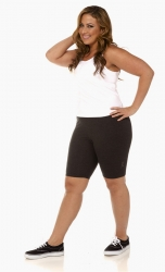 PRE ORDER: Plus Size Bike Shorts - Charcoal