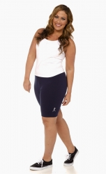 PRE ORDER: Plus Size Bike Shorts - Navy