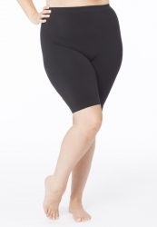 PRE ORDER: Plus Size Anti Chafing Long Leg Knickers - Black