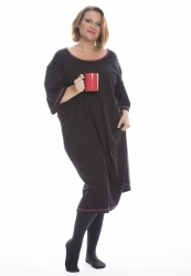 PRE ORDER: Plus Size Lounger - Black