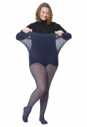 PRE ORDER: Plus Size Genuine Tall Fit 20 Denier Pantyhose - Navy