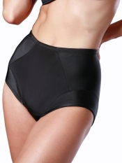 PRE ORDER: Designer Plus Size Shapewear Brief – Black