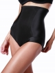 PRE ORDER: Designer Plus Size Shapewear High Waist Brief - Black