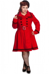 PRE ORDER: New Millie Coat - Red