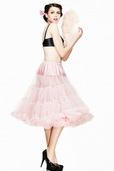 PRE ORDER: Long Petticoat - Dolly Pink