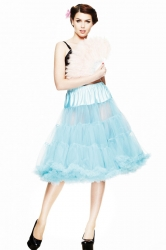 PRE ORDER: Long Petticoat - Turquoise