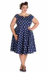 PRE ORDER: Nicky 50s - Navy and White