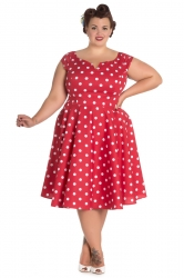 PRE ORDER: Nicky 50s - Red and White