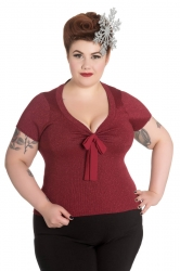 PRE ORDER: Angette Top - Red