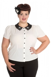 PRE ORDER: Miss Muffet Blouse
