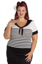 PRE ORDER: Coco Top - Black and White