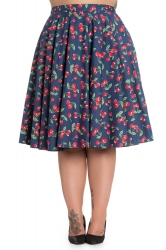 PRE ORDER: April 50s Skirt - Navy