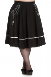 PRE ORDER: Miss Muffet Skirt - Black with White