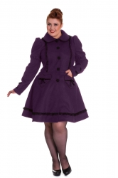 PRE ORDER: Courtney Coat - Purple