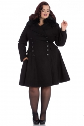 PRE ORDER: Milan Coat - Black and Black