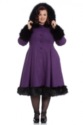 PRE ORDER: Elvira Coat - Purple