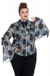 PRE ORDER: After Death Blouse - Green