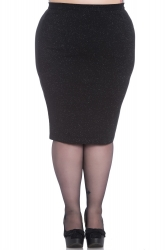 PRE ORDER: Nebula Pencil Skirt - Black