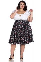 PRE ORDER: Stevie 50's Skirt - Black