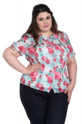 PRE ORDER: Suzannah Blouse - Mint