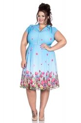 PRE ORDER: Bethany Dress - Blue
