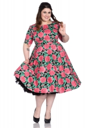 PRE ORDER: Darcy 50's Dress - Black