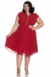 PRE ORDER: Paige Dress - Red
