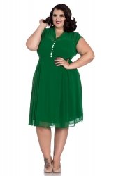 PRE ORDER: Paige Dress - Green