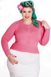 PRE ORDER: Paloma Cardigan - Candy Pink